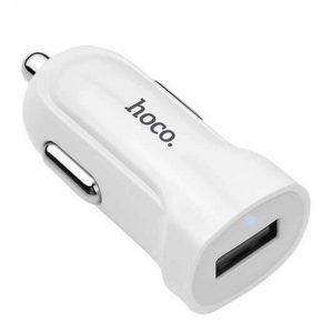 АЗУ HOCO Z2 USB 1,5A white автомобильное зарядное