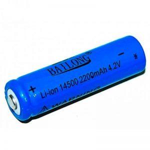 Аккумулятор Bailong 14500, blue