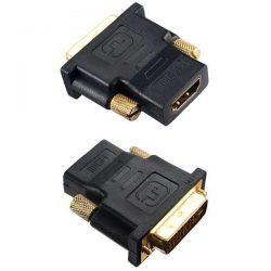 Переходник DVI D вилка-HDMI A розетка Perfeo A7004