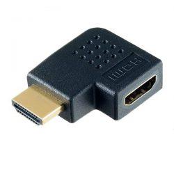 Переходник угловой HDMI A вилка-HDMI A розетка Perfeo A7011