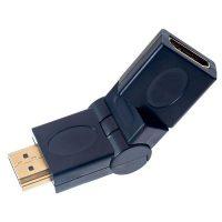 Переходник поворотный 360` HDMI A вилка-HDMI A розетка Perfeo A7013
