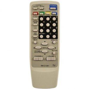 Пульт JVC RM-C1261 оригинал для телевизоров JVC
