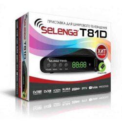 Ресивер DVB-T2 Selenga T81D + IPTV