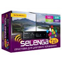 Ресивер DVB-T2 Selenga T40 DVB-T2 и DVB-T Full HD / SD MPEG2