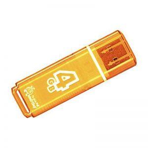 USB накопитель SmartBuy Glossy series 4GB, Orange, Green, Blue