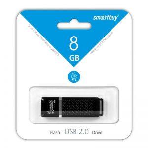 USB накопитель SmartBuy Quartz series 8GB, Black