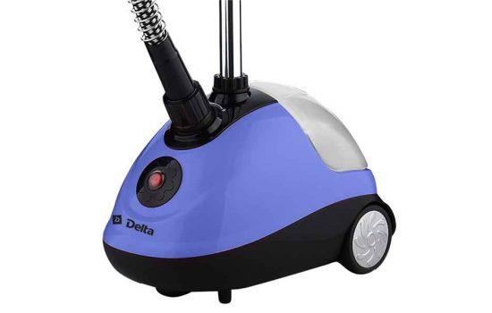 Отпариватель DELTA DL-862PS, розовый, фиолетовый