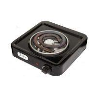 Электрическая плита Злата-114Т, черный, белый