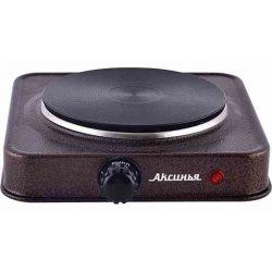 Электрическая плита Аксинья КС-006, коричневый