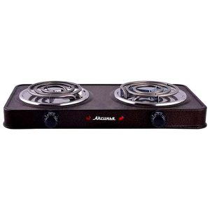 Электрическая плита Аксинья КС-007, коричневый