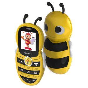 Телефон Maxvi J8 Пчелка Green, Yellow