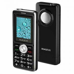 Телефон Maxvi T3 защита IP67 Black, Marengo, Military