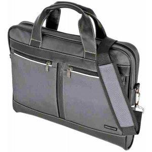 "Сумка для ноутбука 15.6"" Cross Case CC15-014, Black, Red, Grey"