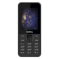 Мобильный телефон Nobby 200, Black, Black/Grey