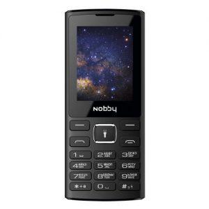 Мобильный телефон Nobby 210, Black, Black/Grey