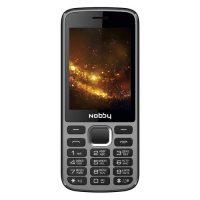 Мобильный телефон Nobby 300 Grey, Black