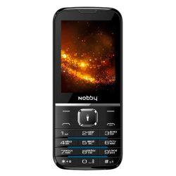 Мобильный телефон Nobby 310, Black/Blue, Black/Grey