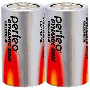 Батарейка Perfeo R20/2SH Dynamic Zinc
