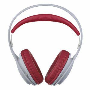 Наушники Perfeo полноразмерные ONTO белые/красные (PF_A4411)