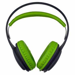 Наушники Perfeo ONTO черные/зеленые (PF_A4410)
