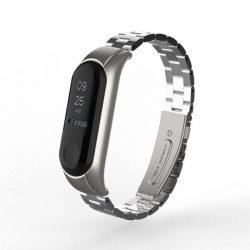 Ремешок для Xiaomi Mi Band 3 Metal Silver