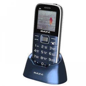 Мобильный телефон Maxvi B6 подставка-база Marengo, Gold, Black, Red