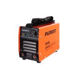 Сварочный инверторный аппарат PATRIOT 210 DC MMA
