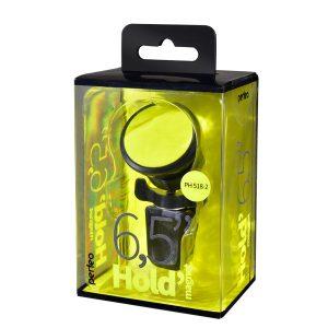 Автодержатель Perfeo PH-518-2 магнит, жёлтый, красный