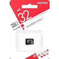 Карта памяти microSDHC 32 Gb Smartbuy UHS-1 Class 10