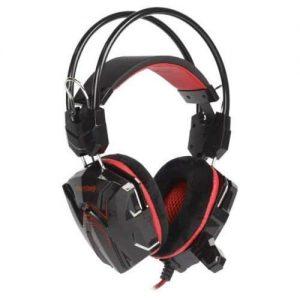 Игровая гарнитура SmartBuy SBHG-1300 RUSH SNAKE Red с велюровыми амбушюрами