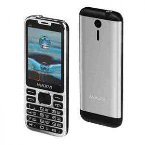 "Телефон Maxvi X10 2,8"" Metallic Gold, Silver, Rose-Gold"