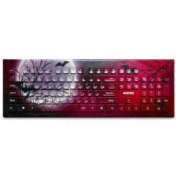 Клавиатура SmartBuy SBK-223U-M-FC Moon с цветным принтом на корпусе Луна