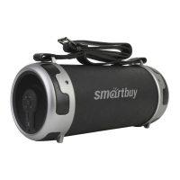 Портативная колонка Smartbuy Stinger SBS-101, 15Вт, MP3, FM, Bluetooth Black