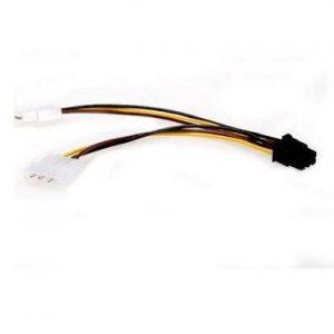 Кабель питания Cablexpert 2хMolex / PCI-E 6pin