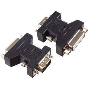 Переходник (адаптер) VGA/SVGA вилка - DVI-D розетка A7018