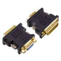 Переходник (адаптер) DVI-D вилка - VGA/SVGA розетка A7019