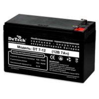 Аккумулятор DeTech DT 7-12 (12V 7A)