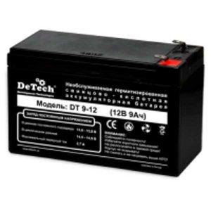 Аккумулятор DeTech DT 9-12 (12V 9A)