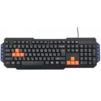 Игровая клавиатура и мышь Ritmix RKC-055 Black USB