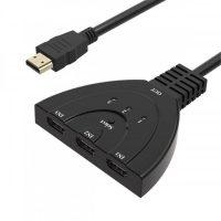 HDMI концентратор 3 входа 1 выход 1.4b 4K 1080P, HDTV, Xbox, PS3, PS4
