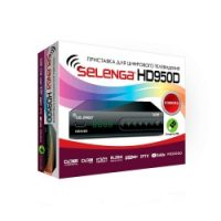 Ресивер DVB-T2 Selenga HD950D DVB-T2, Full HD Black