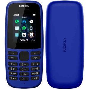 Мобильный телефон Nokia 105 SS TA-1203, Blue