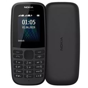 Мобильный телефон Nokia 105 DS, TA-1174, Black, гар.1 год.