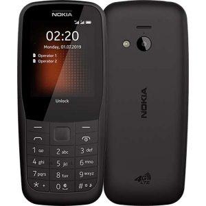 Мобильный телефон Nokia 220 DS TA-1155, Black