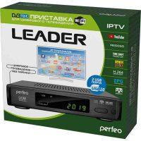 Ресивер T2 Perfeo «LEADER» для цифрового TV, Wi-Fi, IPTV, (PF_A4412)