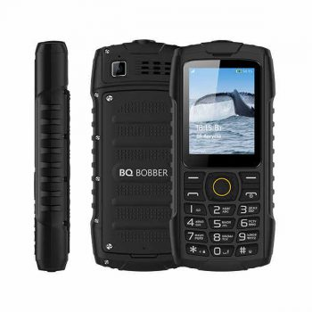 Телефон BQ-2439 Bobber, IP68, Black