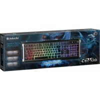 Клавиатура Defender Chimera GK-280DL RGB,19 keys Black