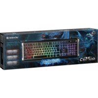 Клавиатура Defender Chimera GK-280DL RGB,19 keys Black