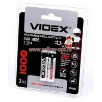 Аккумулятор Videx AAA HR03/2 1000mAh Ni-MH
