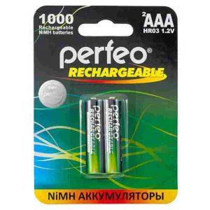 Аккумулятор AAA R3 Perfeo 1000mAh
